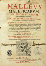 15세기에 출간된 '말레우스 말레피카룸'