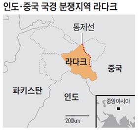 라다크 위치 지도